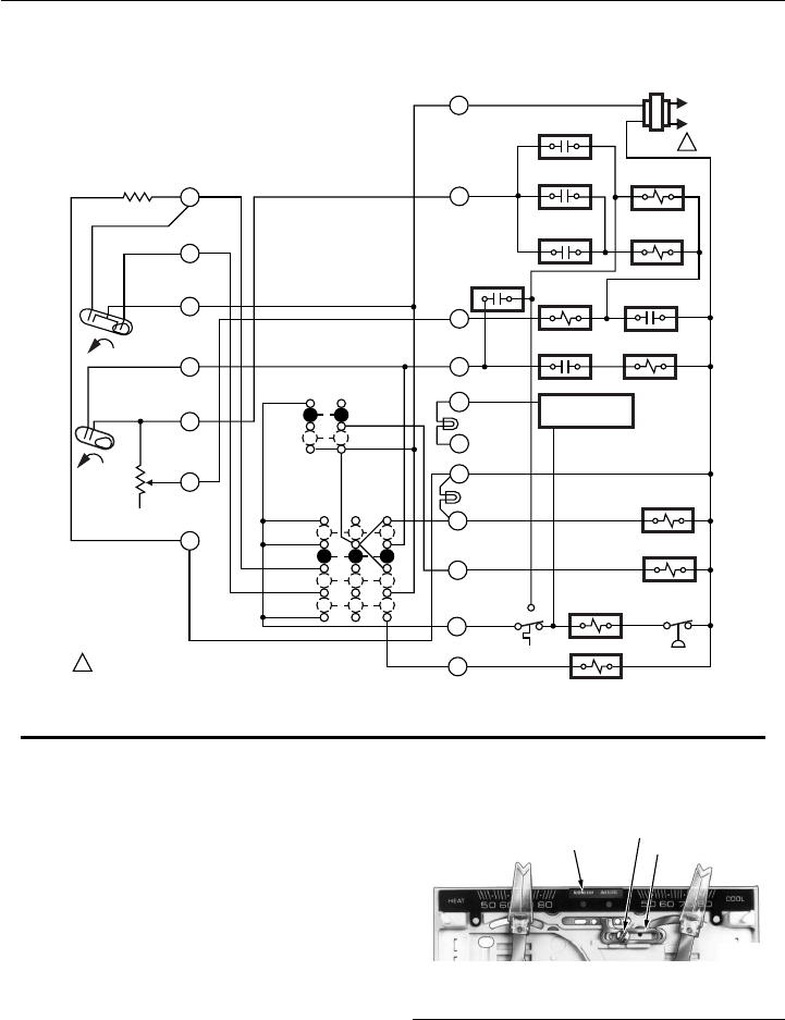 Honeywell T874  Q674 Fig  7internal Schematic And Typical