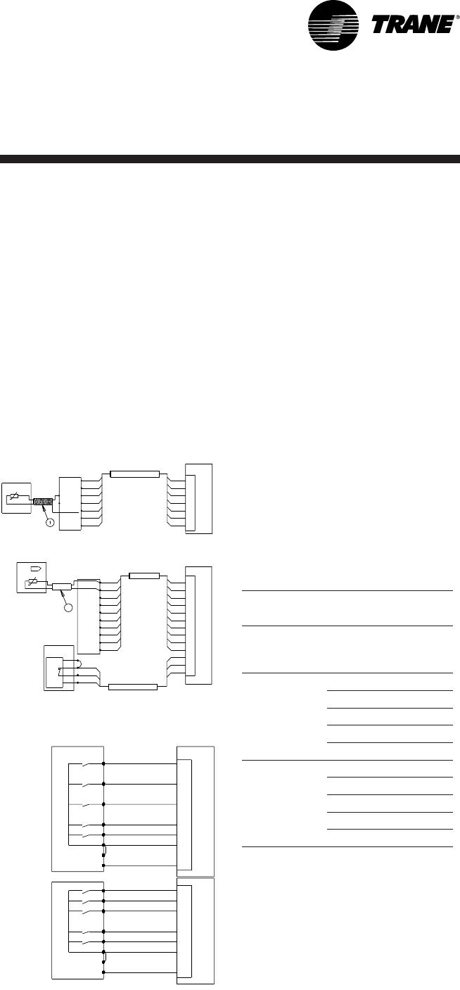 Trane RT-SVX19A-E4 Control wiring