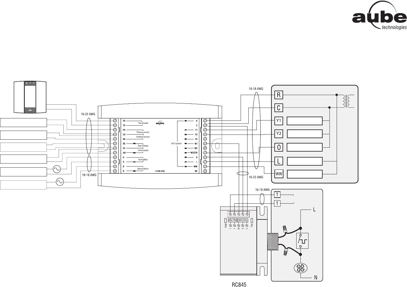 wiring diagram for a dehumidifier