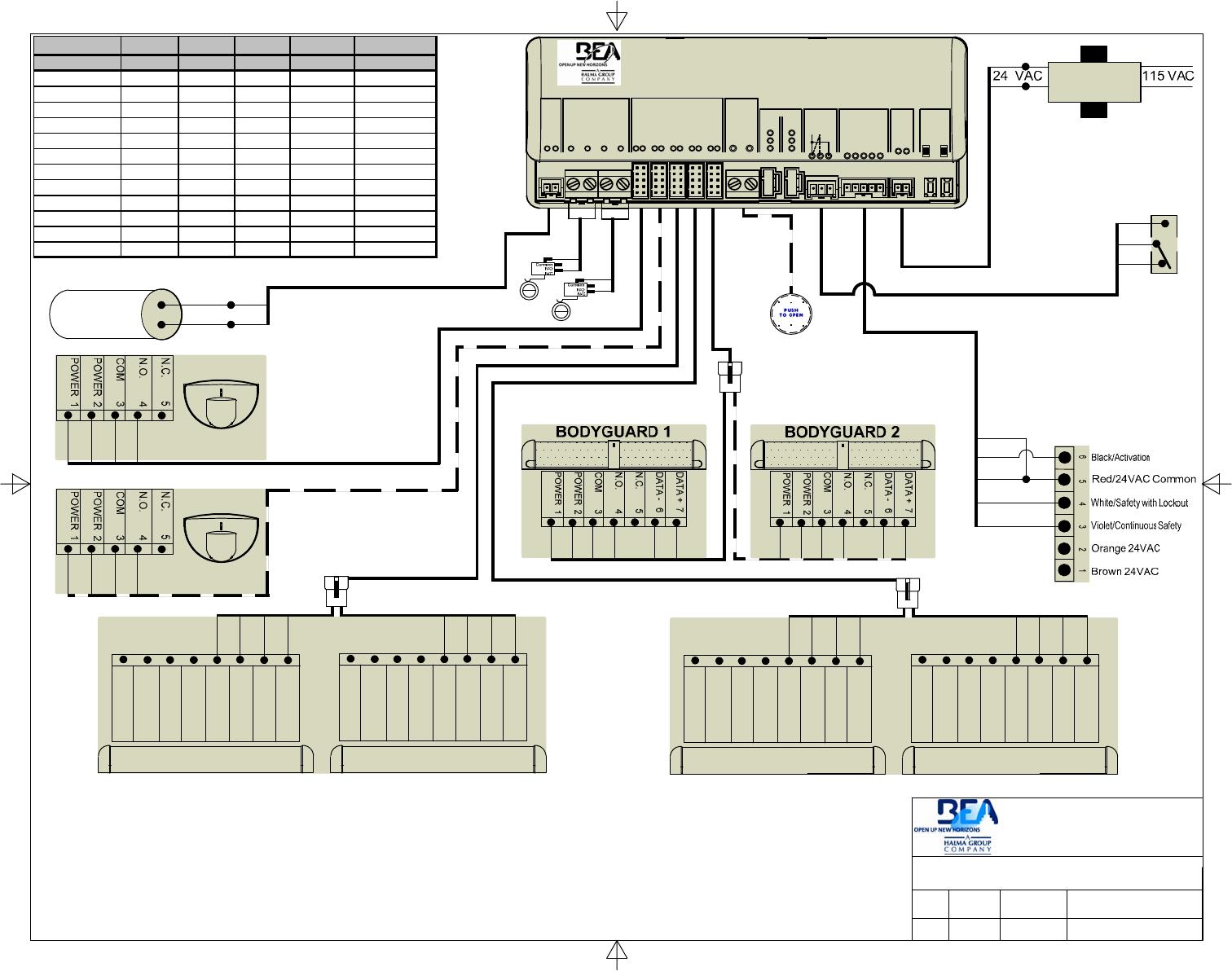 BEA 1100 LO-LINX Bea Lo Wiring Diagram on