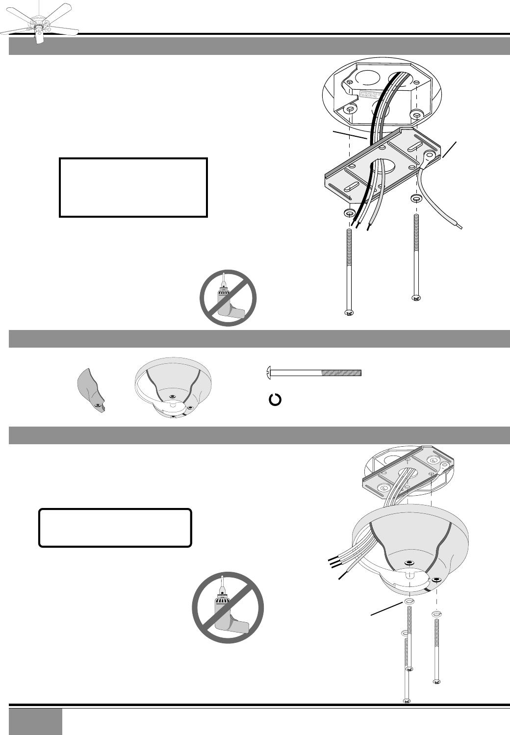 Casablanca Fan Company Indoor Ceiling Crossbar Mounting Bracket Switch Wiring Diagram 4