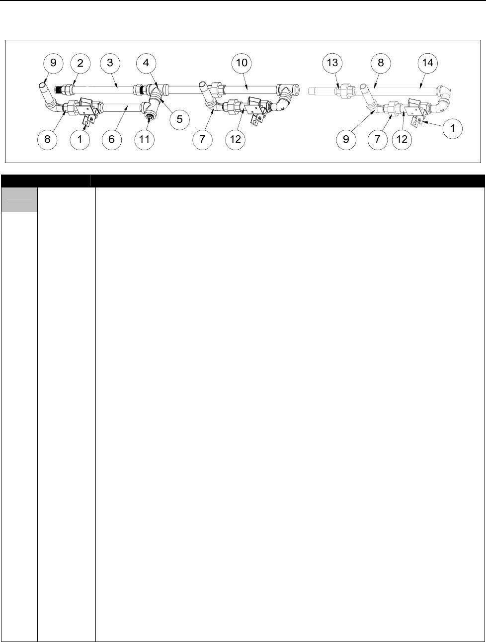DEAN MILLIVOLT GAS FRYERS CHAPTER 2: PARTS LIST
