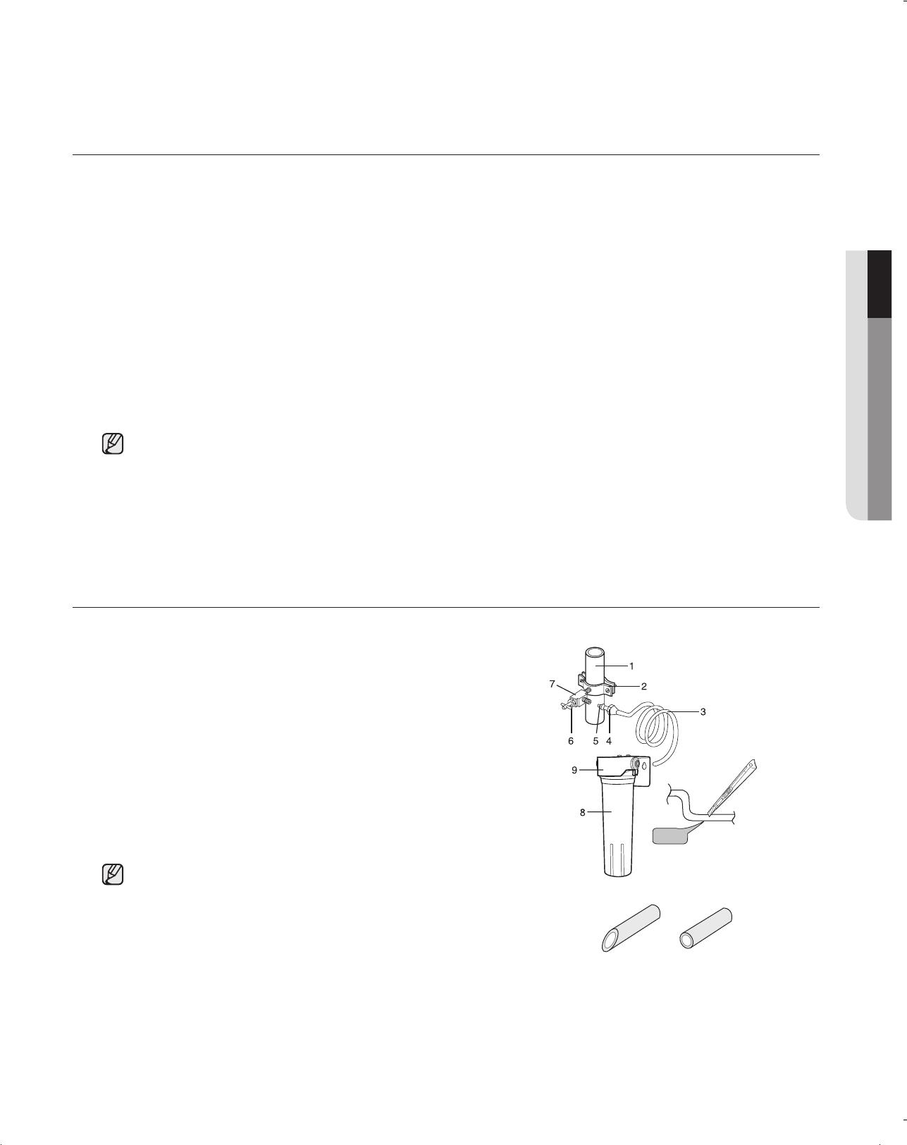 Samsung Rf197acbp Rf197acpn Rf197acrs Rf197acwp Rf217acbp Refrigerator Wiring Diagram Before You Install The Water Line