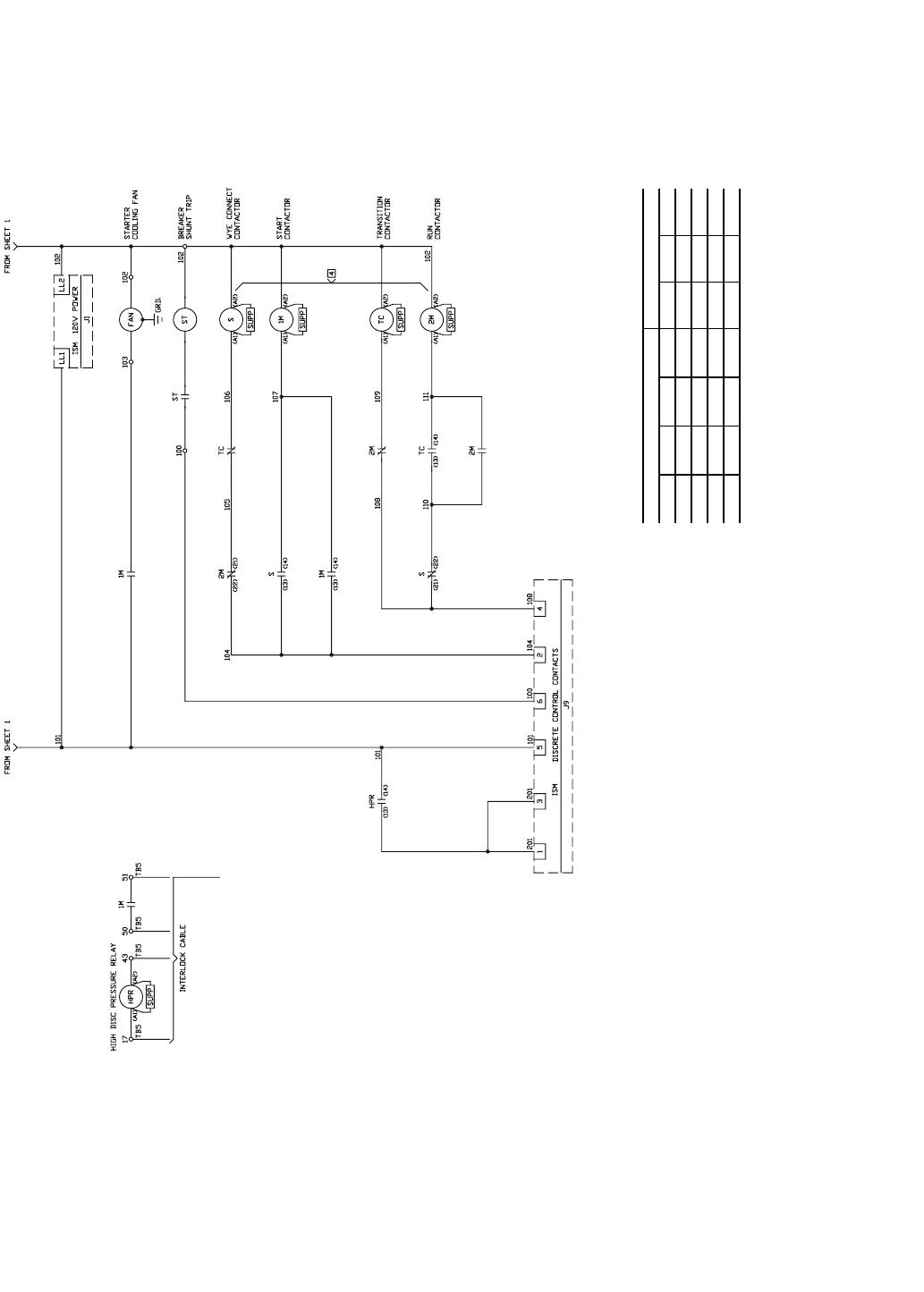 Carrier 19xr Xrv Fig 45 Allen Bradley Wye Delta Unit Mounted Vfd Wiring Diagram Starter Cont