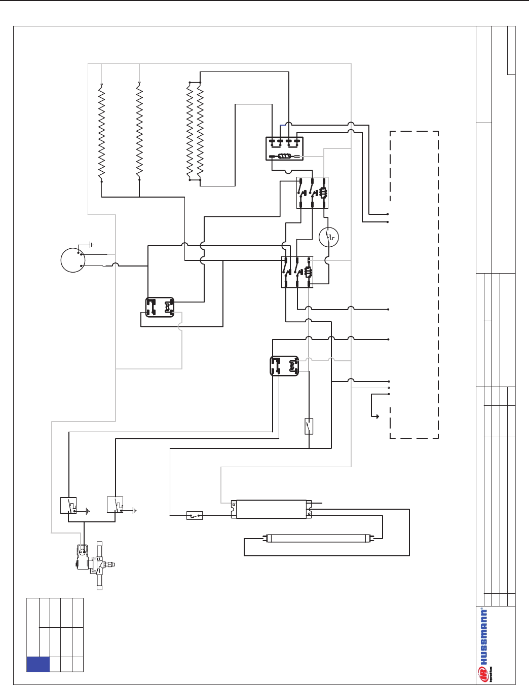 Hussman Fmss L Wiring Diagrams