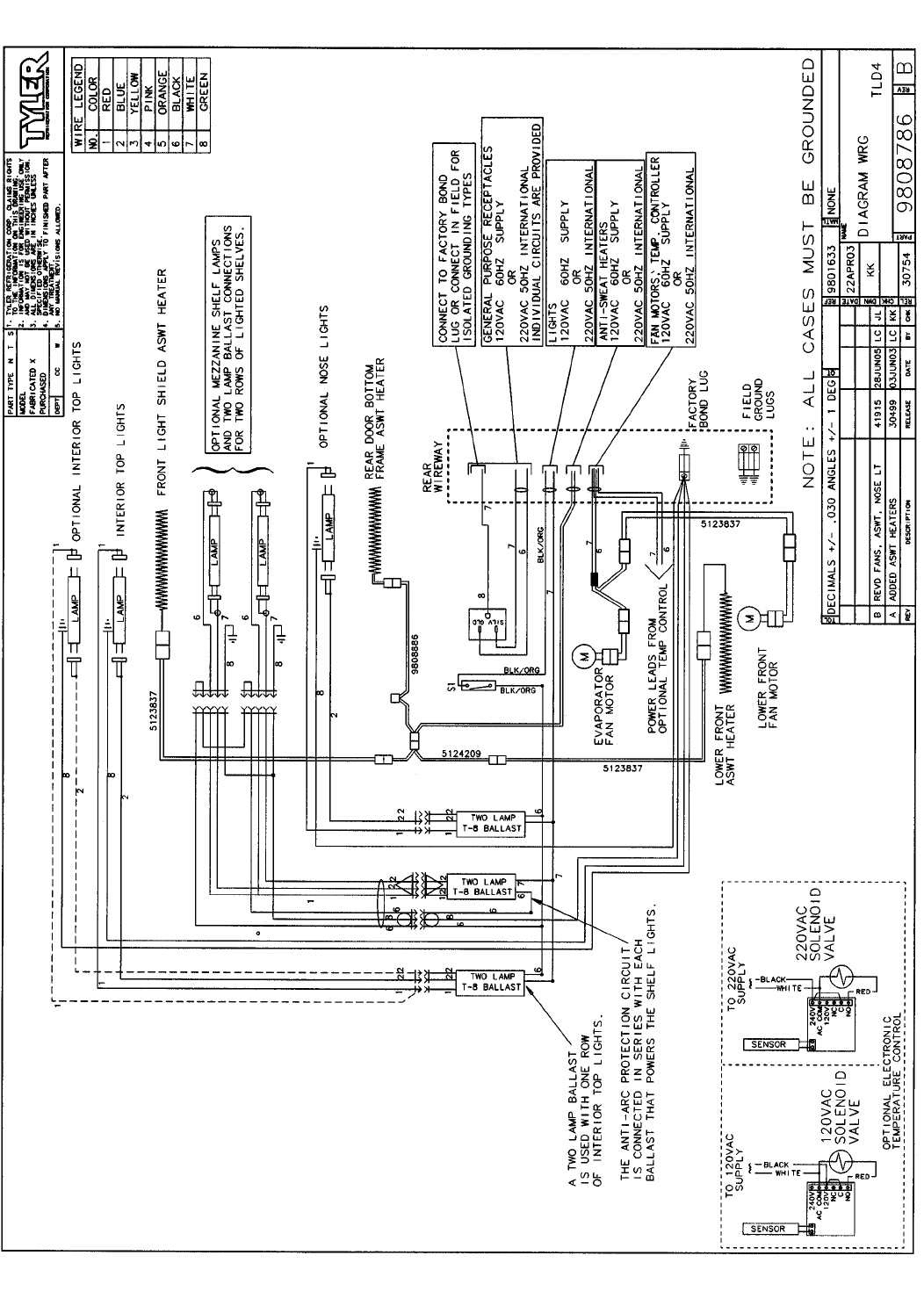 Tyler Refrigeration Wiring Diagrams Detailed Solenoid Diagram Tld Tlf Tlm Page 18 Schematic