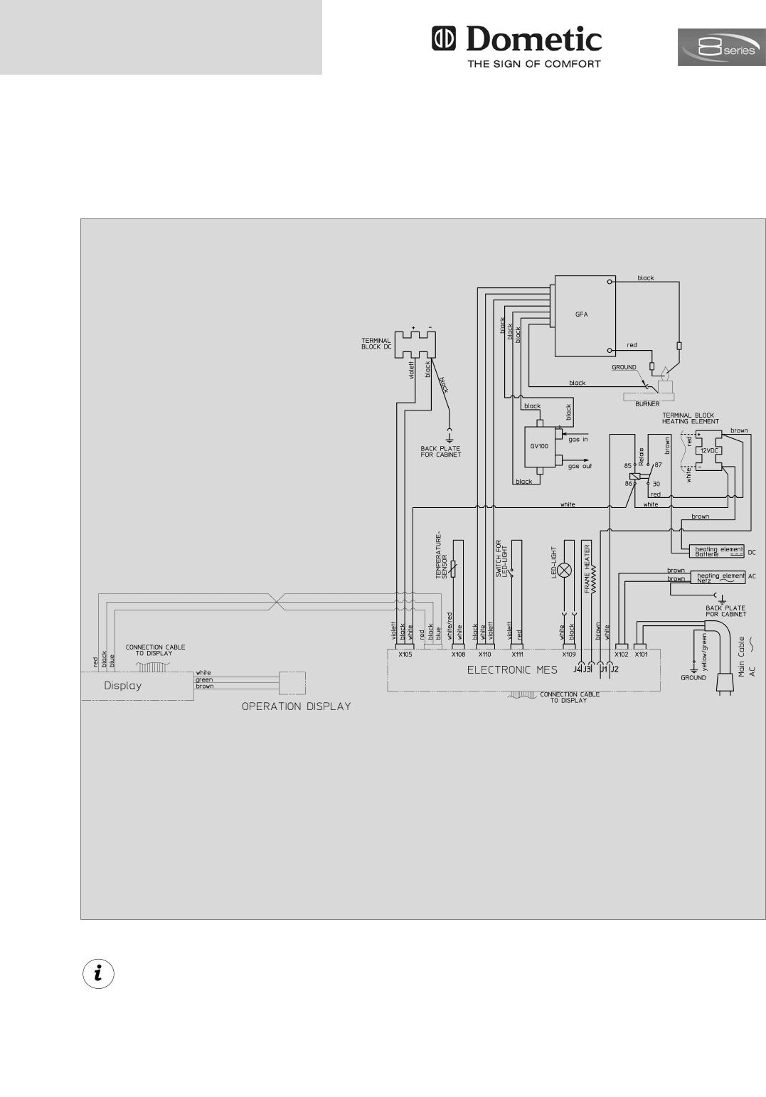 Dometic RMD    8501     RMD 8505  RMD 8551  RMD 8555  page 20