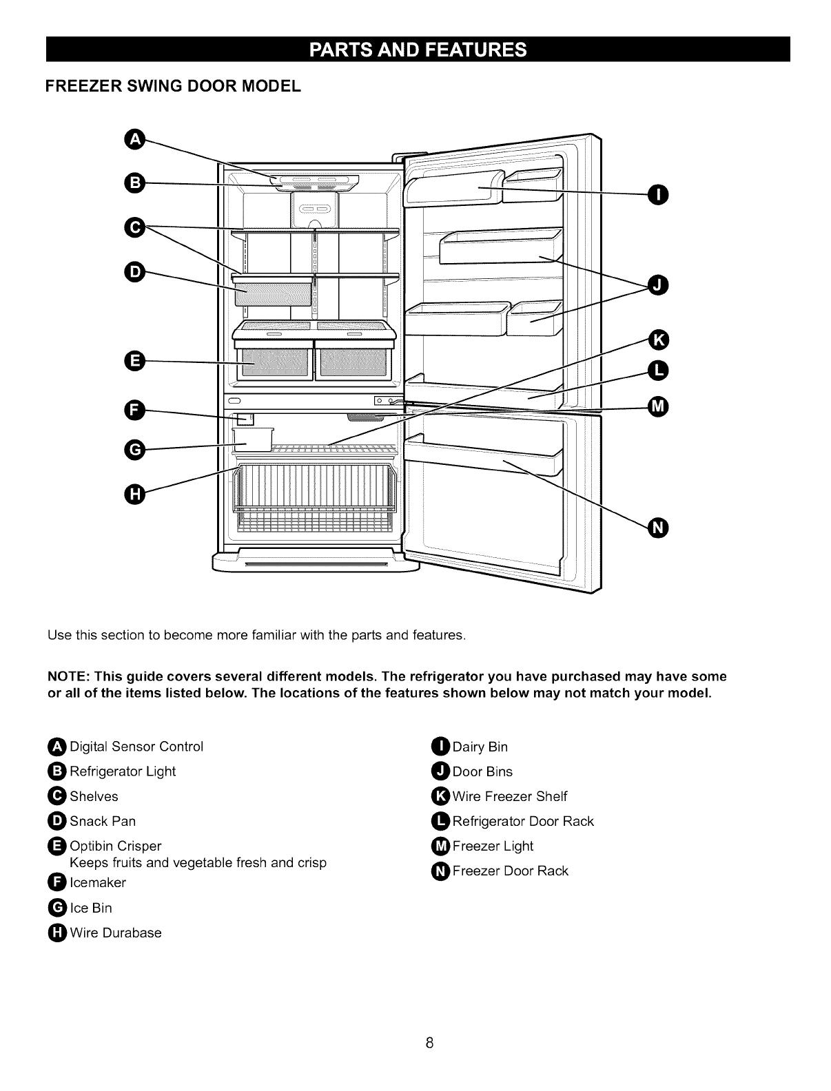 Kenmore 7956827 7956900 79576200 7957809 7957827 7957900 Sensor Wiring Diagram Door Rack Freezer Swing Model