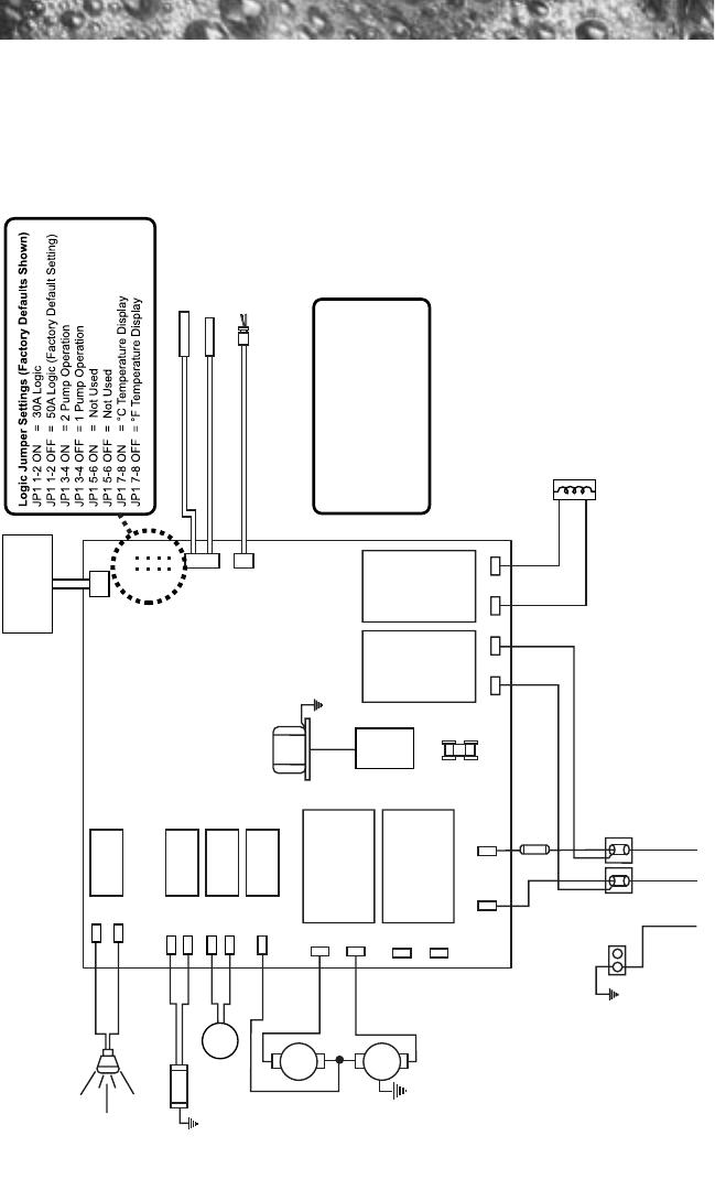 Sundance Spas 780 16.0 Cayman Circuit Diagram (60Hz) on