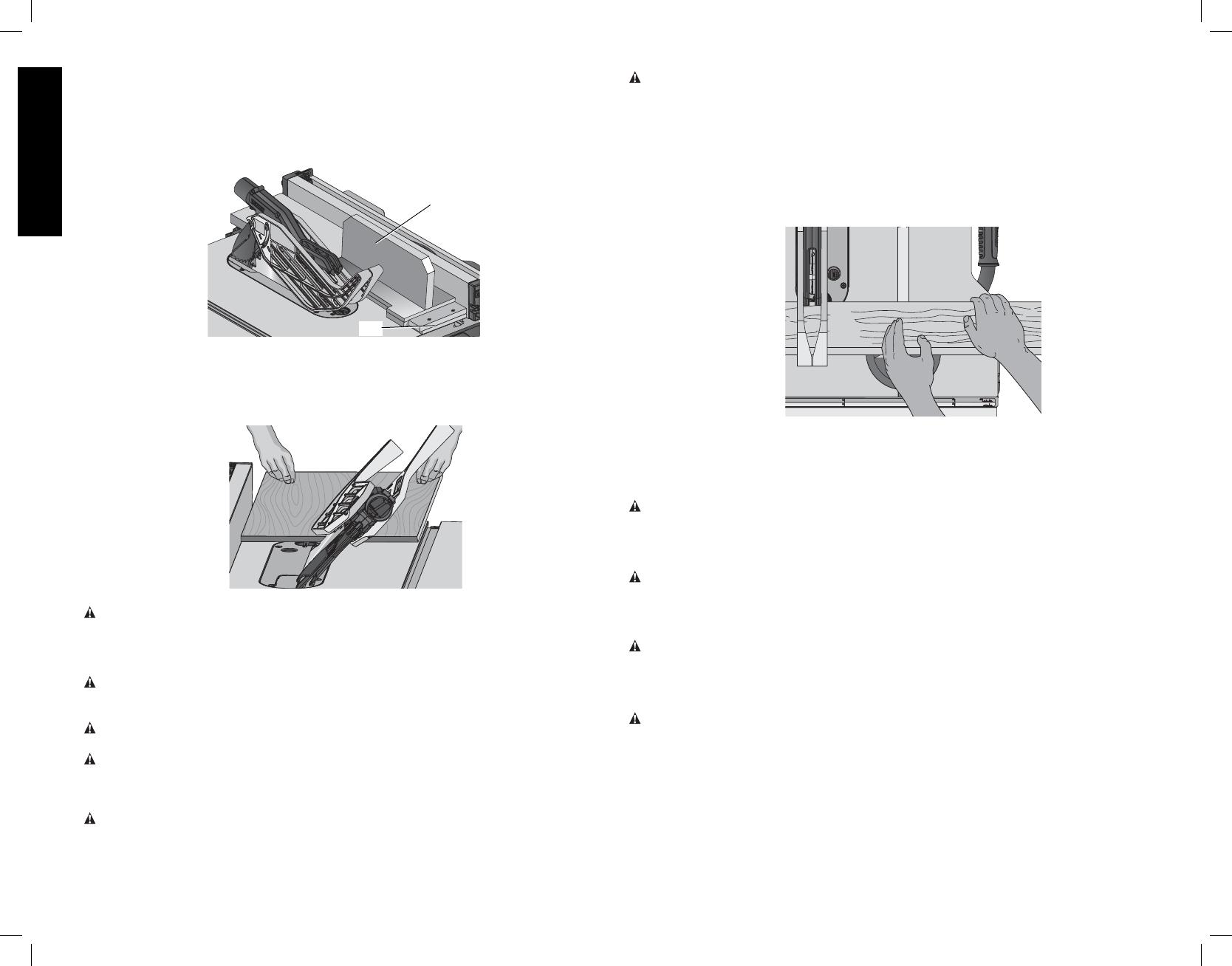 Dewalt Dwe7490 Dwe7491 Bevel Crosscutting Mitering Fig 40