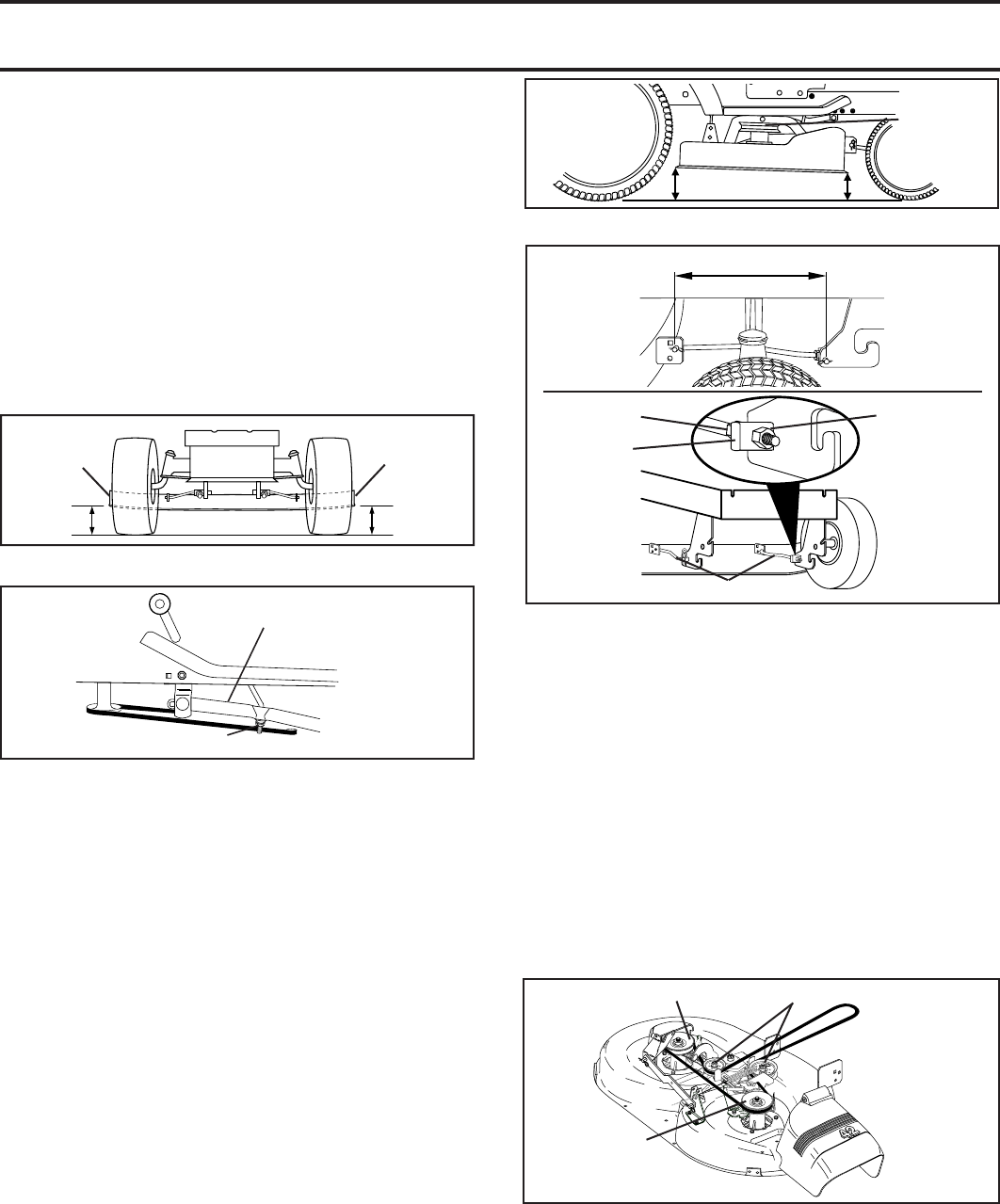 Husqvarna Mower Drive Belt Adjustment Image Of Wiring Diagram Rz 5426 Lth1742 To Replace Blade See Fig 21