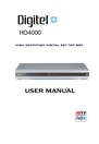 888 Digital HD4000 Manual