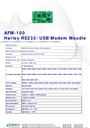 Abocom AFM-100 Manual