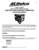 ACDelco AC-G0005 Instruction Manual