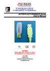ACTiSYS ACT-IR4000US Manual