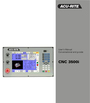 Acu-Rite CNC 3500i User Manual