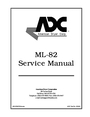 ADC ML-82 Service Manual