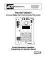 ADT Security Services ADT-UDACT Operation Manual
