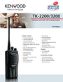 Advanced Wireless Solutions TK-2200 Manual