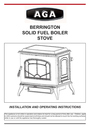 Aga Ranges Berrington Manual
