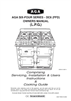 Aga Ranges DESN 512387 A Owner Manual