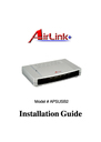 Airlink APSUSB2 Manual