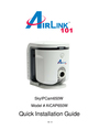 Airlink101 AICAP650W Manual