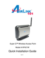 Airlink101 AP421W Manual