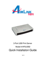 Airlink101 APSUSB2 Manual