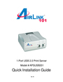 Airlink101 APSUSB201 Manual
