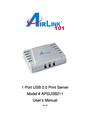 Airlink101 APSUSB211 User Manual