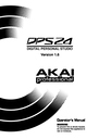 Akai dps24 Manual