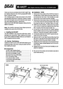 Akai IB-4ADT Instruction Sheet
