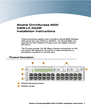 Alcatel Carrier Internetworking Solutions 6000 OAW-LC-2G24F Installation Instructions