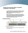 Alcatel Carrier Internetworking Solutions LC-2G24FP Installation Instructions