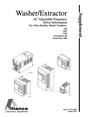 Alliance Laundry Systems 1305 Manual
