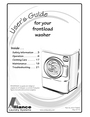 Alliance Laundry Systems 802756R3 Manual