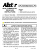 Allstar Products Group 831E Installation Instructions
