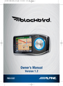 Alpine PMD-B100T Owner Manual
