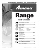 Amana 8113P765-60 Important Safety Instructions