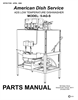 American Dish Service 5-AG-S Manual