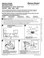 American Standard 2359 Installation Instructions