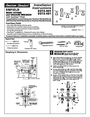 American Standard 2373.401 Installation Instructions
