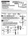 American Standard 2373.821 Installation Instructions
