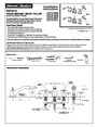 American Standard 2373.900 Installation Instructions