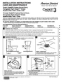 American Standard 2490 Installation Instructions
