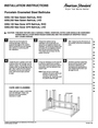 American Standard 255.102 Installation Instructions
