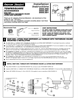 American Standard 2555.050 Installation Instructions