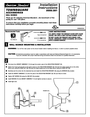American Standard 2555.081 Installation Instructions