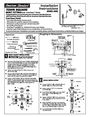American Standard 2555.400 Installation Instructions